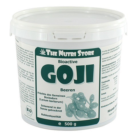 GOJI BEEREN Bioactive getrocknet 500 Gramm