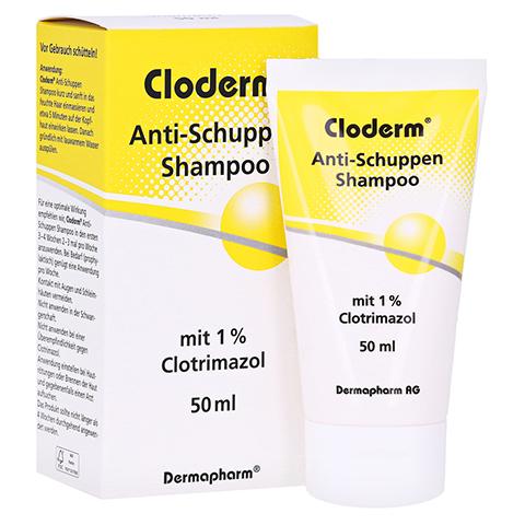 CLODERM Anti Schuppen Shampoo 50 Milliliter