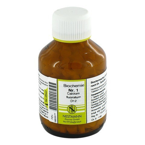 BIOCHEMIE 1 Calcium fluoratum D 12 Tabletten 400 Stück