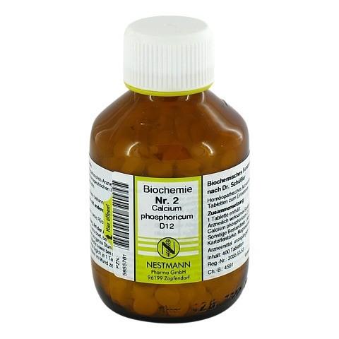 BIOCHEMIE 2 Calcium phosphoricum D 12 Tabletten 400 Stück