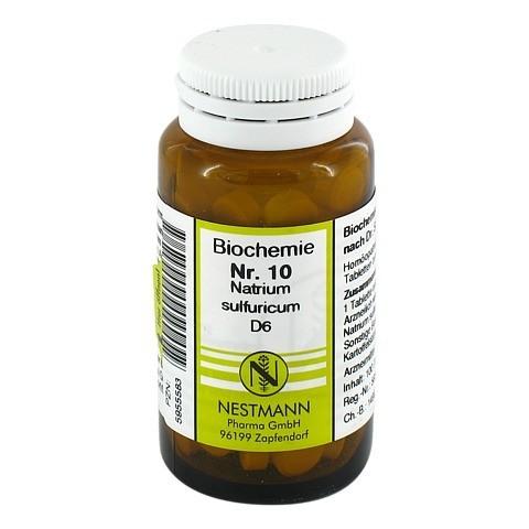 BIOCHEMIE 10 Natrium sulfuricum D 6 Tabletten 100 Stück