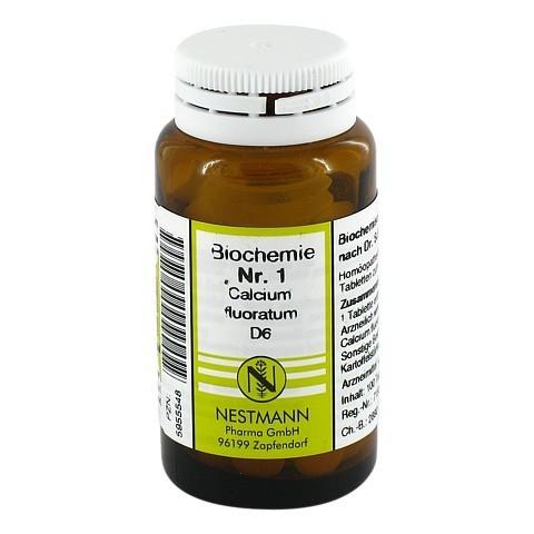 BIOCHEMIE 1 Calcium fluoratum D 6 Tabletten 100 Stück