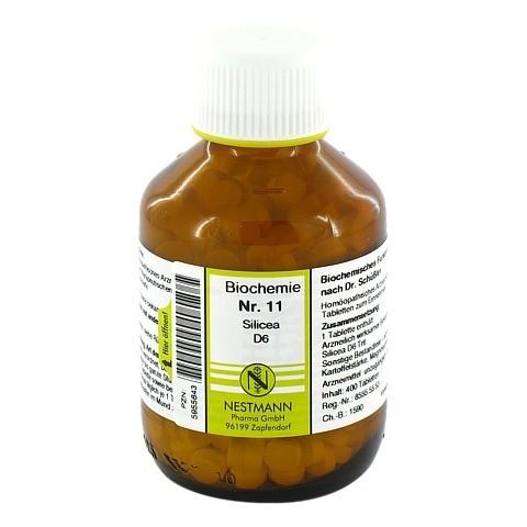 BIOCHEMIE 11 Silicea D 6 Tabletten 400 Stück