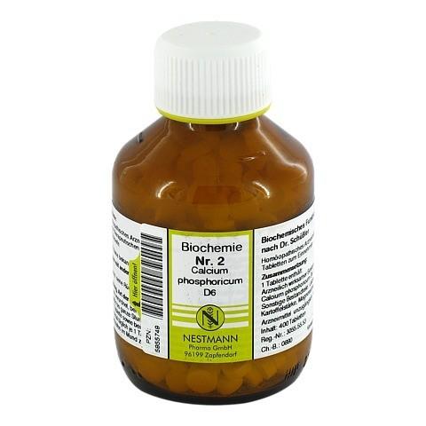 BIOCHEMIE 2 Calcium phosphoricum D 6 Tabletten 400 Stück