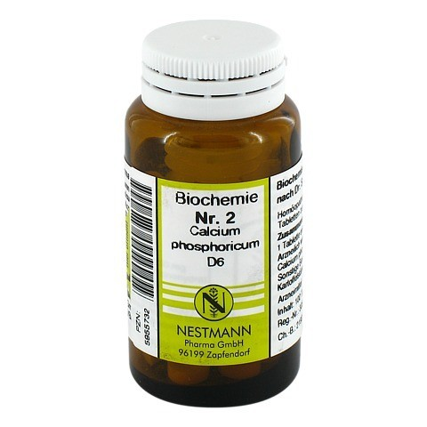 BIOCHEMIE 2 Calcium phosphoricum D 6 Tabletten 100 Stück
