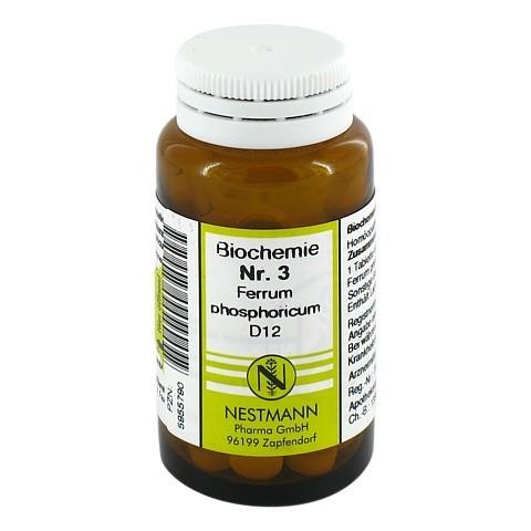 BIOCHEMIE 3 Ferrum phosphoricum D 12 Tabletten 100 Stück