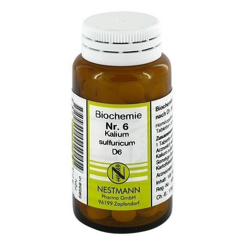BIOCHEMIE 6 Kalium sulfuricum D 6 Tabletten 100 Stück