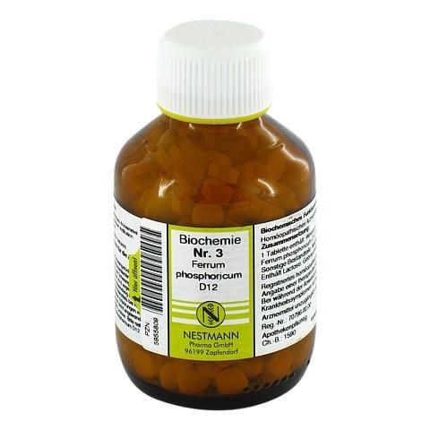 BIOCHEMIE 3 Ferrum phosphoricum D 12 Tabletten 400 Stück