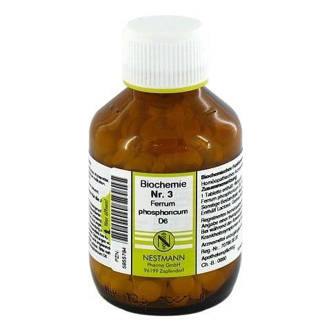 BIOCHEMIE 3 Ferrum phosphoricum D 6 Tabletten 400 Stück