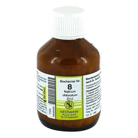 BIOCHEMIE 8 Natrium chloratum D 12 Tabletten 400 Stück