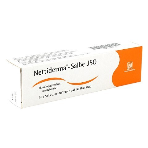 NETTIDERMA-Salbe JSO 50 Gramm N1
