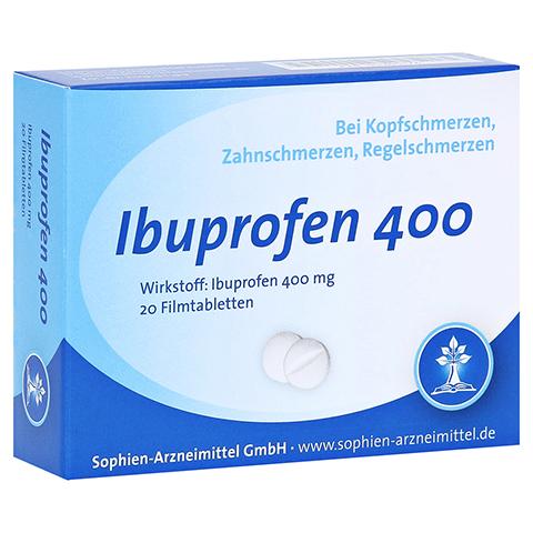 Ibuprofen 400 Sophien 20 Stück