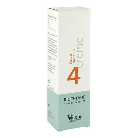 BIOCHEMIE Pflüger 4 Kalium chloratum Creme 75 Gramm N2