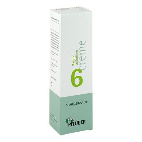BIOCHEMIE Pflüger 6 Kalium sulfuricum Creme 75 Gramm N2