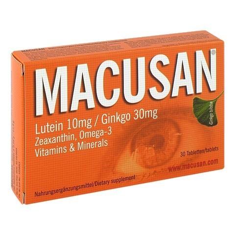 MACUSAN Tabletten 30 Stück