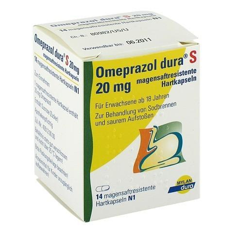 Omeprazol dura S 20mg 14 Stück