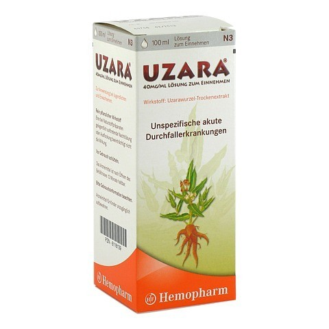 UZARA 40mg/ml 100 Milliliter N3