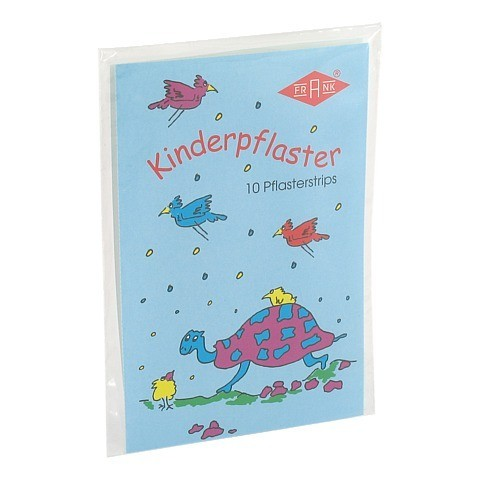 KINDERPFLASTER Schildkröte 140011 10 Stück