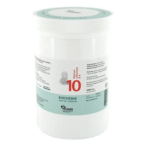 BIOCHEMIE Pflüger 10 Natrium sulfuricum D 6 Tabl. 4000 Stück