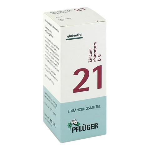 BIOCHEMIE Pflüger 21 Zincum chloratum D 6 Tabl. 100 Stück N1