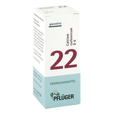 BIOCHEMIE Pflüger 22 Calcium carbonicum D 6 Tabl. 100 Stück N1