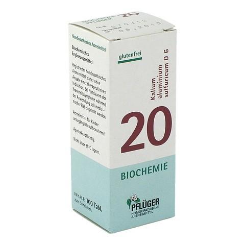 BIOCHEMIE Pflüger 20 Kalium alumin.sulfur.D 6 Tab. 100 Stück N1