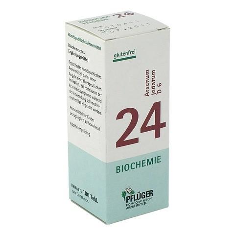 BIOCHEMIE Pflüger 24 Arsenum jodatum D 6 Tabletten 100 Stück N1