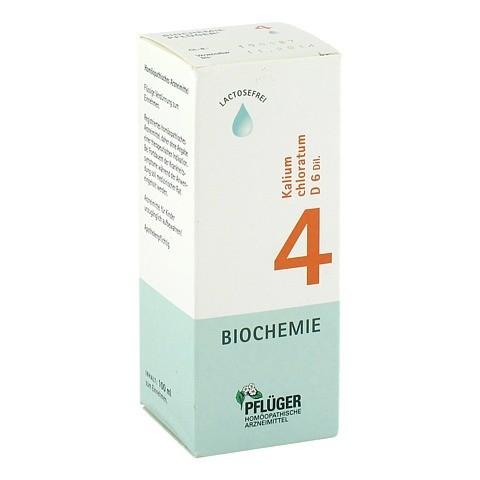 BIOCHEMIE Pflüger 4 Kalium chloratum D 6 Tropfen 100 Milliliter N2