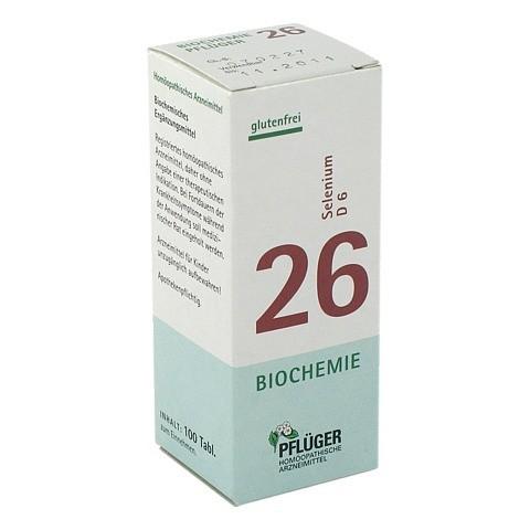 BIOCHEMIE Pflüger 26 Selenium D 6 Tabletten 100 Stück N1