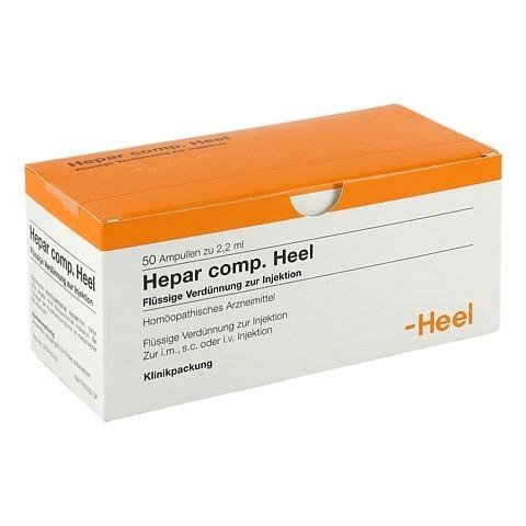 HEPAR COMP.Heel Ampullen 50 Stück N2