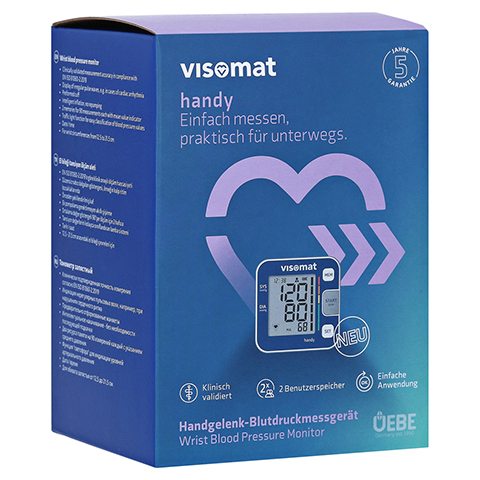 VISOMAT handy Handgelenk Blutdruckmessgerät 1 Stück