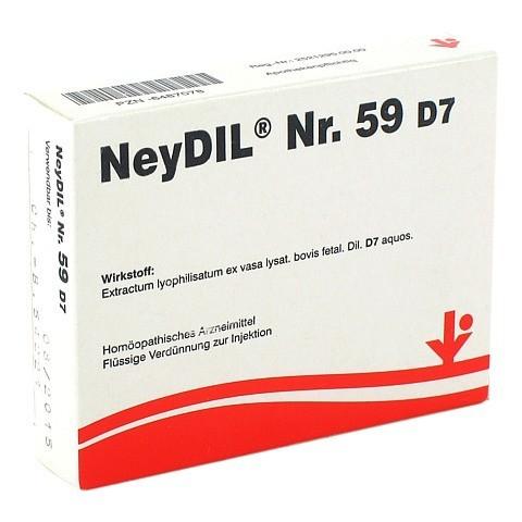 NEYDIL Nr.59 D 7 Ampullen 5x2 Milliliter N1