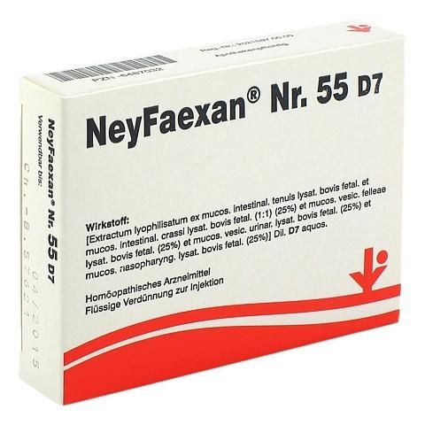 NEYFAEXAN Nr.55 D 7 Ampullen 5x2 Milliliter N1