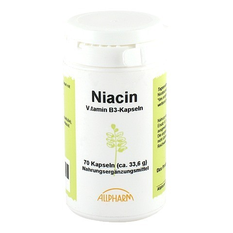 NIACIN KAPSELN 70 Stück