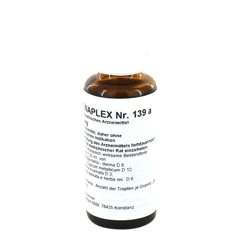 REGENAPLEX Nr.139 a Tropfen 30 Milliliter N1