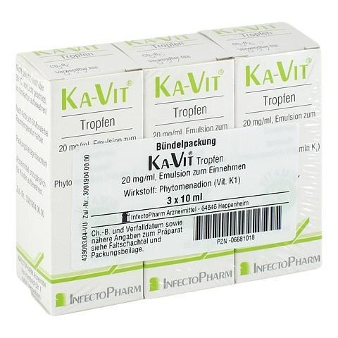 KA VIT Tropfen 3x10 Milliliter N3
