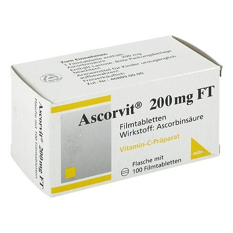 Ascorvit 200mg FT 100 Stück
