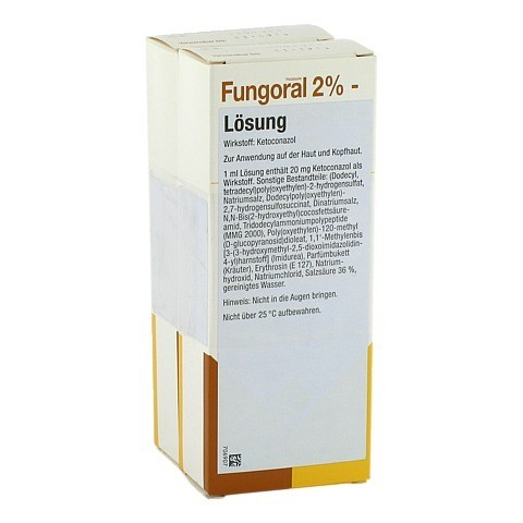 Fungoral 2% 120 Milliliter N1