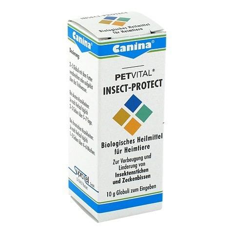 PETVITAL Insect Protect Globuli vet. 10 Gramm