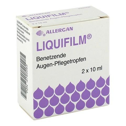 LIQUIFILM Benetzende Augen Pflegetropfen 2x10 Milliliter