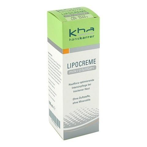 HANS KARRER Lipocreme MikroSilber 100 Milliliter