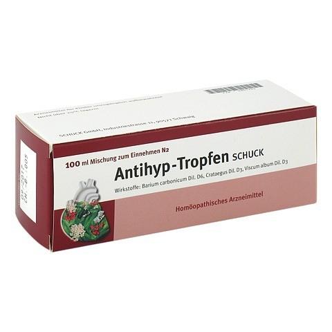 ANTIHYP Tropfen Schuck 100 Milliliter N2
