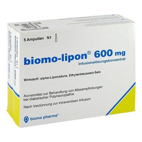 BIOMO-lipon 600 mg Ampullen 10 Stück N2