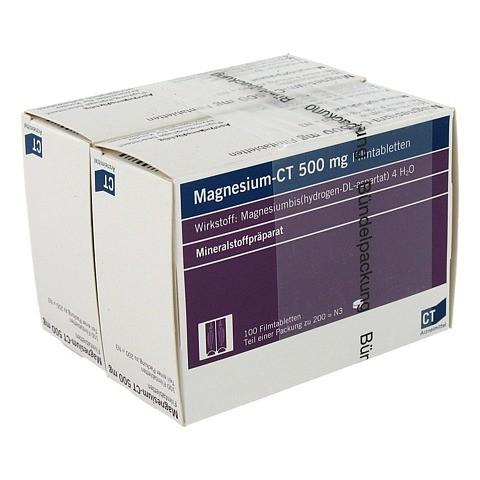 MAGNESIUM-CT 500 mg Filmtabletten 200 Stück