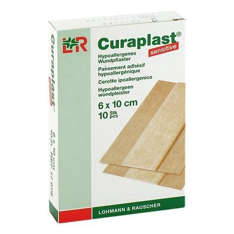 CURAPLAST Wundschnellverb.sensitiv 6x10 cm 1 m 10 Stück