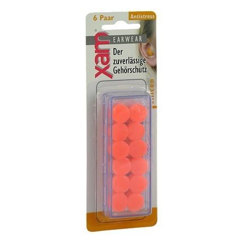 OHRSCHUTZ XAM med.Silikon orange 12 Stück