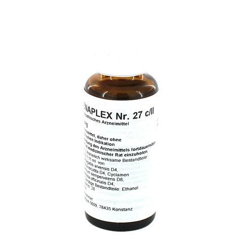 REGENAPLEX Nr.27 c/II Tropfen 30 Milliliter N1