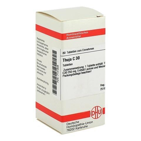 THUJA C 30 Tabletten 80 Stück