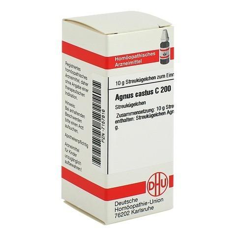 AGNUS CASTUS C 200 Globuli 10 Gramm N1