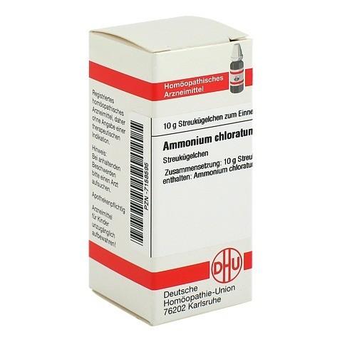 AMMONIUM CHLORATUM D 6 Globuli 10 Gramm N1